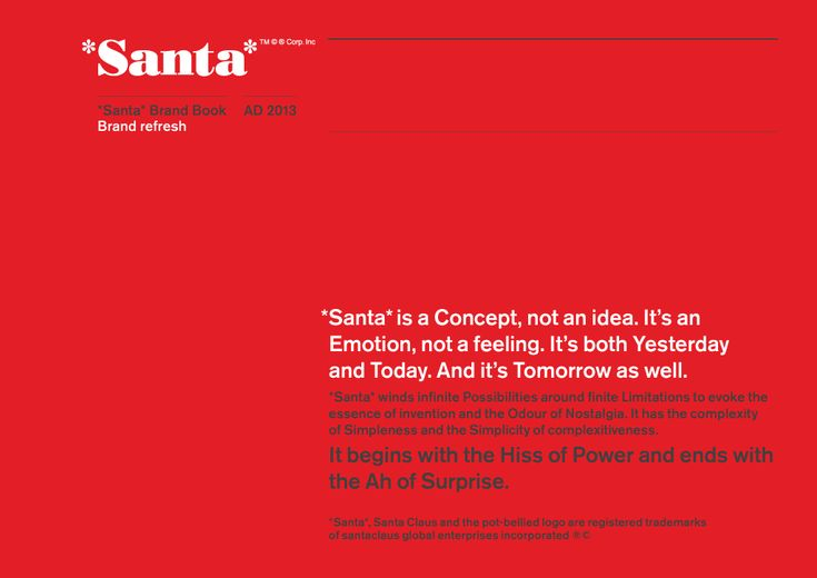 Awesome funny take on branding and Santa.