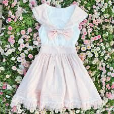 Bubblegum Pastel Sailor Dress from Pocket Tokyo
