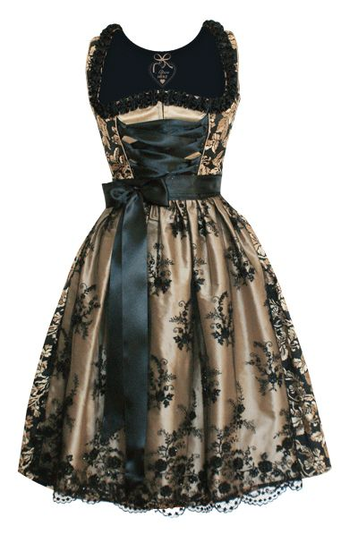 Terrifically beautiful. #dirndl #dress #German #folk #costume