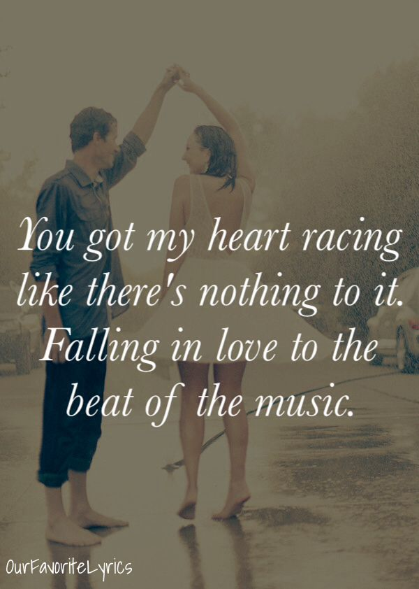 Beat of the Music - Brett Eldredge - OurFavoriteLyrics