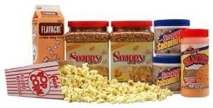 Snappy Popcorn Basic Home Theatre Kit -- See this great product-affiliate link-affiliate link.