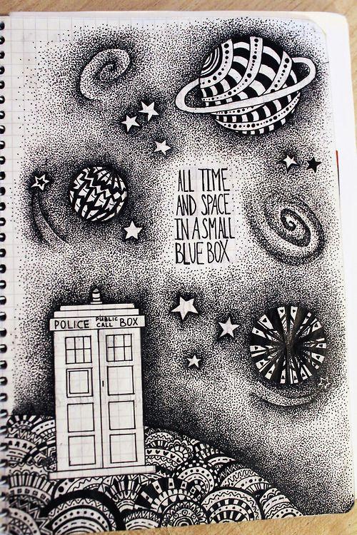 My Doctor Who fanart.