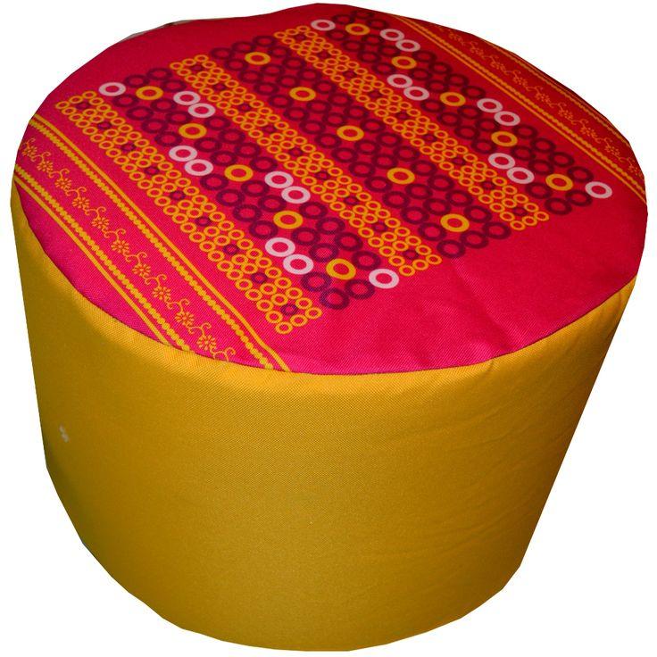Designerska #pufa dekoracyjna #Indyjska № gd217