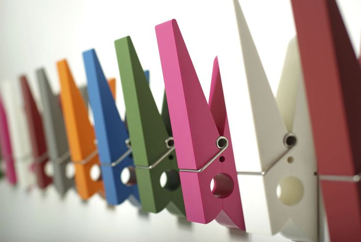 Wall-mounted coat rack / contemporary PINCE ALORS ! Swabdesign