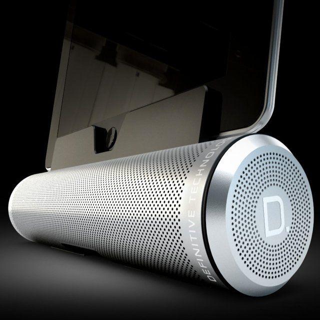 Sound Cylinder Portable Speaker System - $199