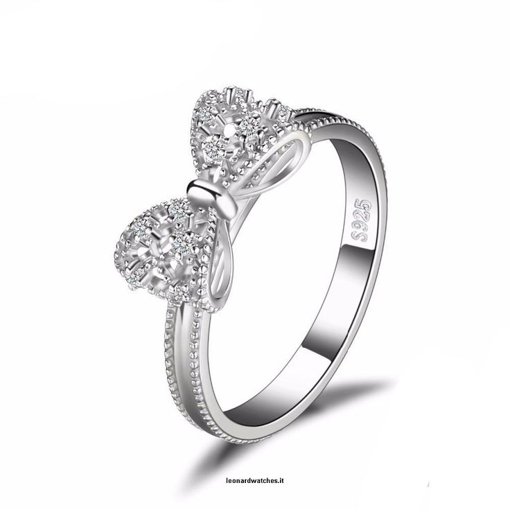 Bow Anniversary Wedding Ring For Women  Vendor:  Leonardwatches          Type:            Price:              17.66                          Metals Type:  Silver    Side Stone:  Other Artificial material    Occasion:  Party    Setting Type:  Prong Setting    CertificateType:  Third Party Appraisal    Style:  Trendy    Main Stone:  Zircon    Shape\pattern:  Animal    Rings Type:  Wedding Bands    Main Stone:  Cubic Zirconia    Metals Type:  Silver  https://www.le..