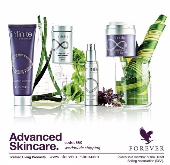 When creating infinite by Forever™ our experts found peptides, natural minerals, botanicals, desert plants and the latest skin science that not only complement Aloe, but actually increase its efficacy and benefits. #beauty #young #wellbeing