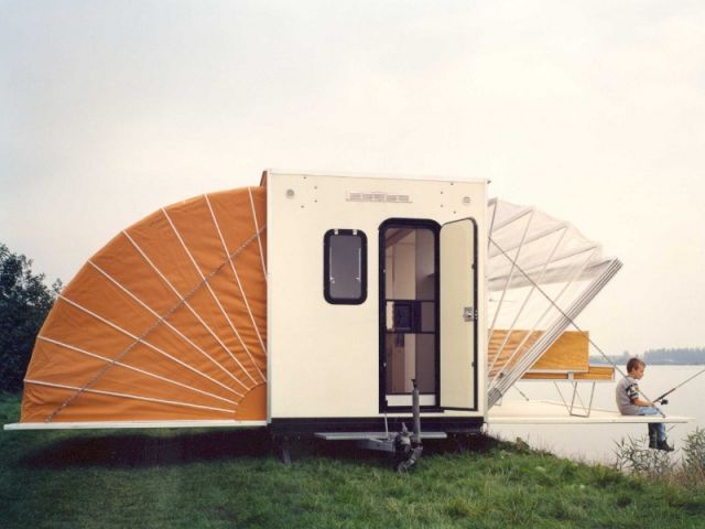 Les 25 meilleures id es concernant tente roulotte de camping sur pinterest - Caravane d architecture ...