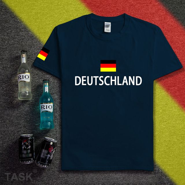 Promotion price Germany deutschland shirt man socceres jerseys 2016 2017 t-shirt cotton nation team cotton meeting fans short streetwear fitness just only $10.99 - 12.49 with free shipping worldwide  #tshirtsformen Plese click on picture to see our special price for you