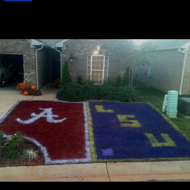 Whose really for the Bama and lsu game Tom??