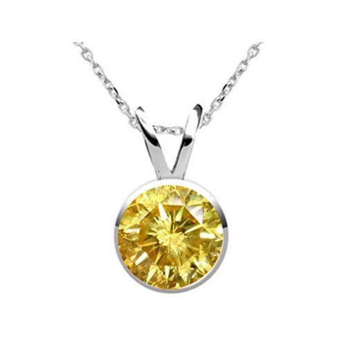 0.25 Karat gelber Diamant Solitäranhänger aus 585/14K Gold für nur 999 Euro  #diamantanhaenger #weissgold #gelbgold #rosegold #gelber_diamant #schmuck #kette #collier #juwelier #abt #dortmund #karat