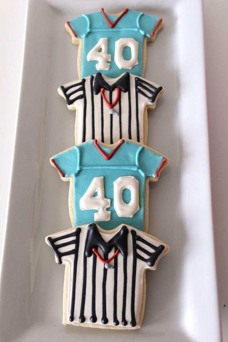 Football Cookies   The Crafting Foodie
