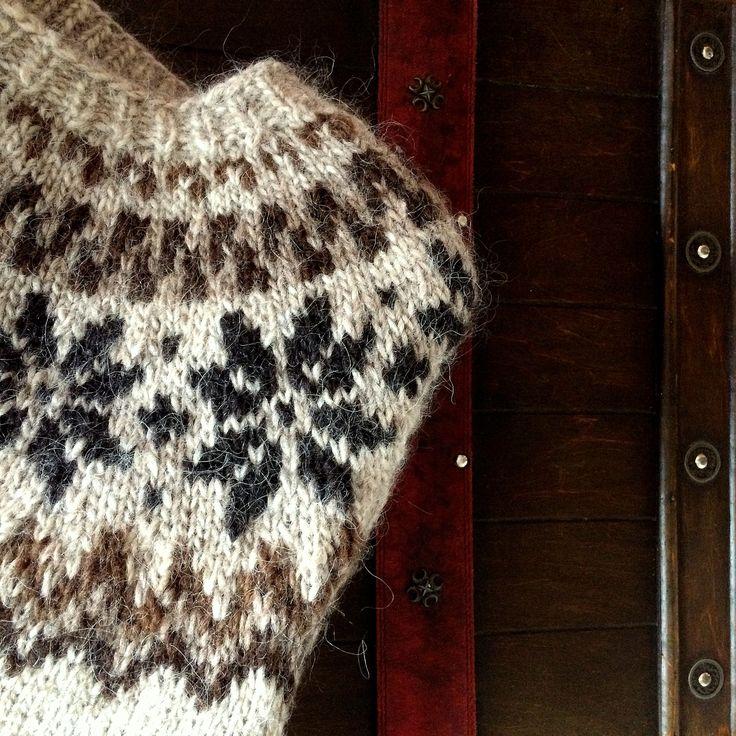 Icelandic, wool, man Sweater.  Knitted by GözdeSigurðs, Pattern: Alafoss. // İzlanda, yün, erkek kazak.