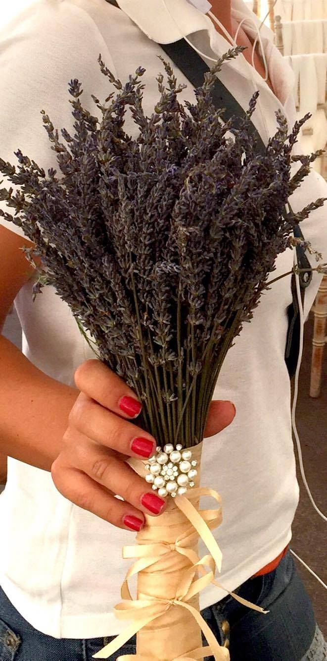 Buchet din Lavanda Lavander wedding Bouquet