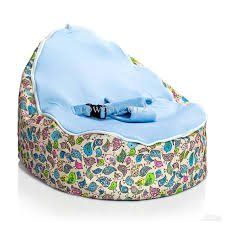 Birdie COLOURFUL CIRCLES BABY BEAN BAG PORTABLE TODDLER CHAIR BLUE Amazonco