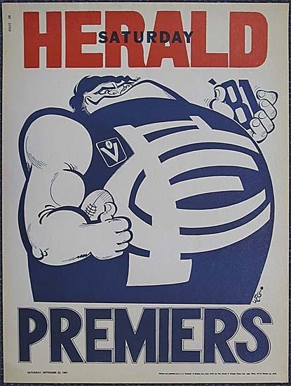 1981 WEG poster.