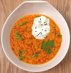 Rote-Linsen-Kokos-Curry - Rezept Details