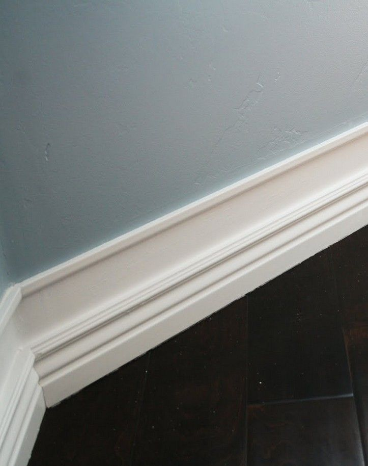How to create chunkier taller baseboards without ripping Baseboard height