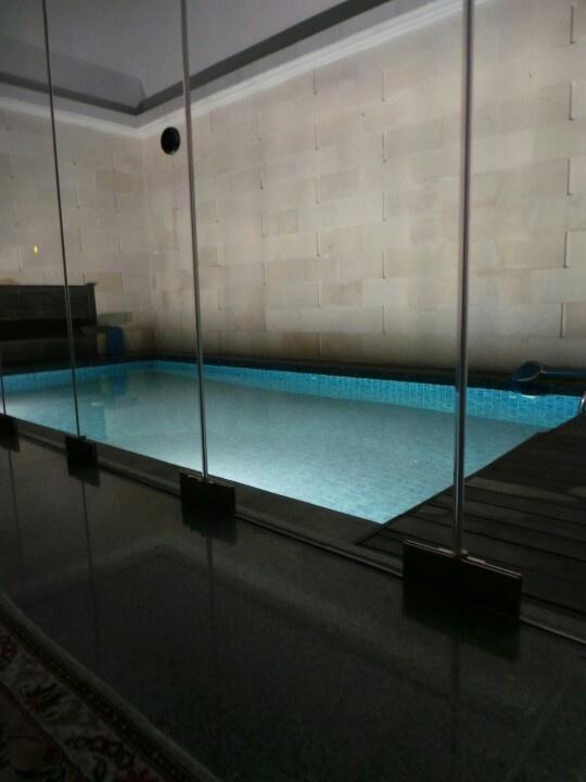 My pool at night...calm