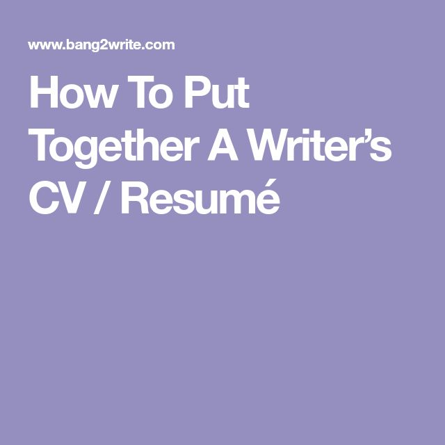 Best 25+ How to resume ideas on Pinterest Build a resume, Cover - how to write a masterpiece of a resume