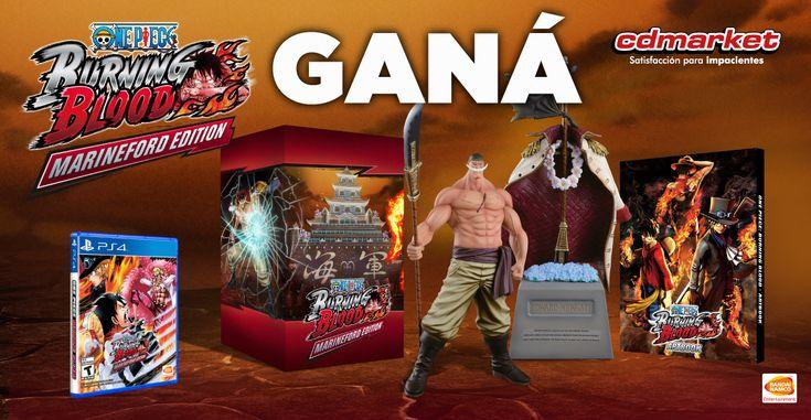¡Seguimos Sorteando Tesoros! One Piece Burning Blood Collector's Edition!!