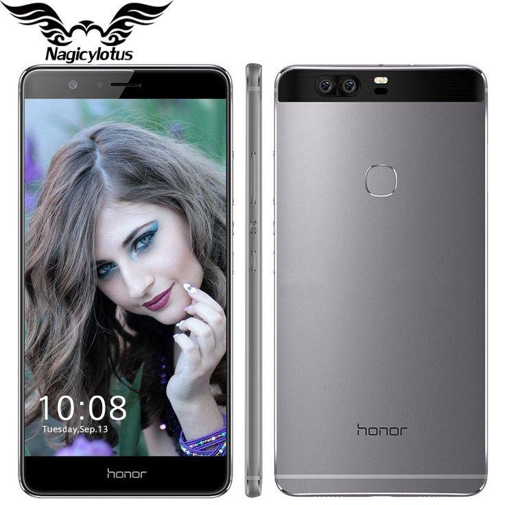 Original Huawei Honor V8 4G LTE 5.7 inch 4GB RAM 64G ROM Mobile Phone Android 6.0 Kirin 950 Octa Core Dual Rear 12.0MP 3 Camera