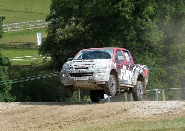 A few shots from the action at Goodwood Festival of Speed.  #FOS #SPEAKISUZU