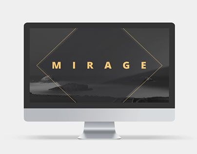 """Check out new work on my @Behance portfolio: """"Mirage #PowerPoint #Template"""" http://be.net/gallery/40805037/Mirage-PowerPoint-Template #presentations #ppt #slide"""