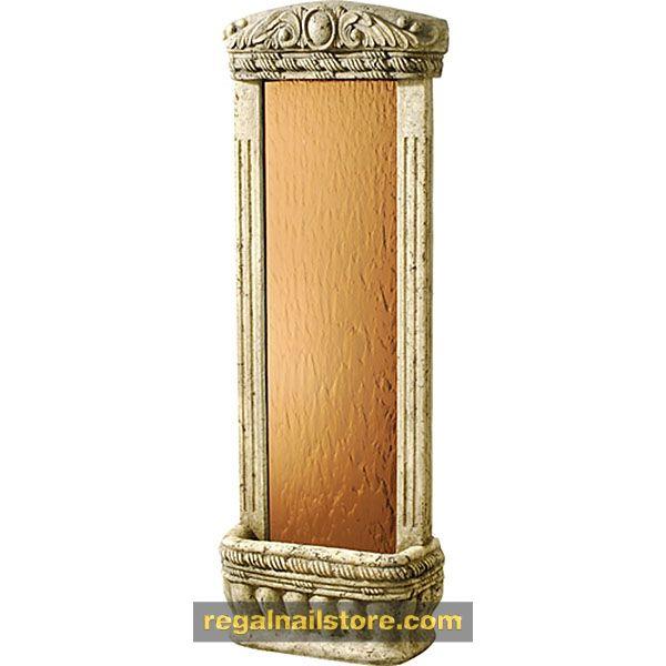 $395 4′ Watergarden Bronze Mirror ,  https://www.regalnailstore.com/shop/4-watergarden-bronze-mirror/ #furniture#spasalon#spafurniture #nailtable#salonfurniture#nailsalon