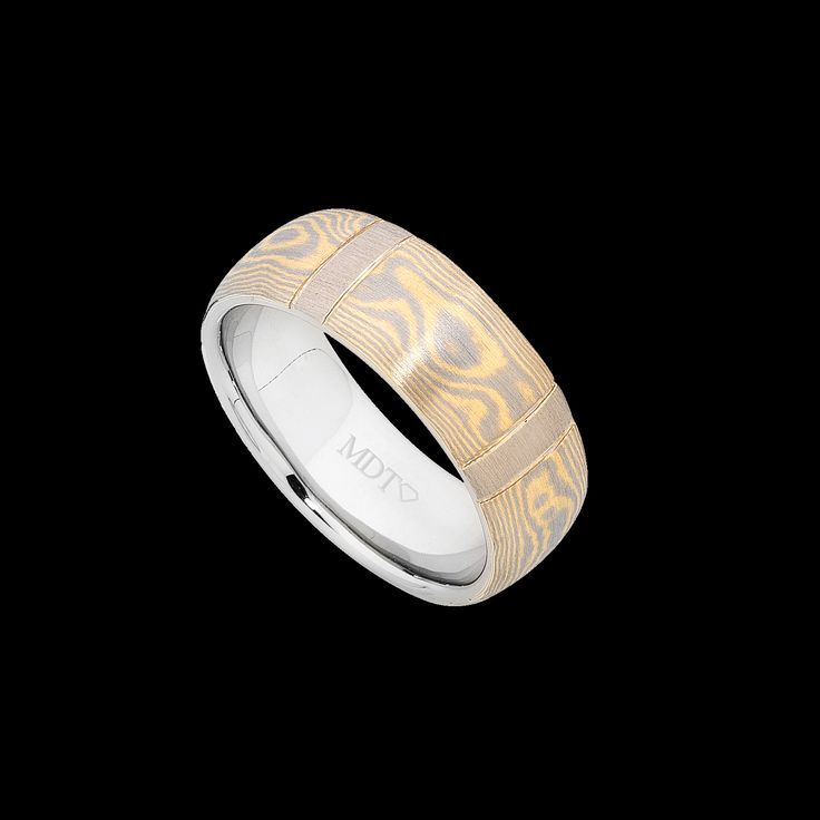 One of MDTdesign's specialty's is our 18ct yellow and white gold Mokume Gane! Everything is custom made to your liking! http://www.mdtdesign.com.au/category/mokume-gane-collection/