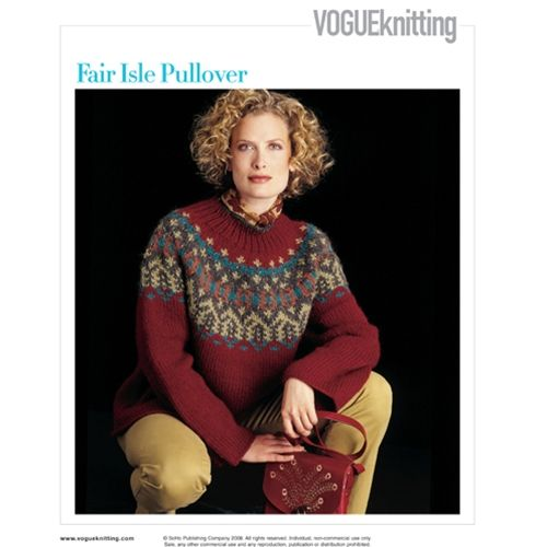 954 best Knit Fair Isle Sweaters images on Pinterest   Crochet ...