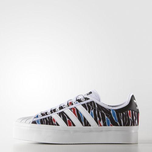 Zebra Print SST Rize Schoenen - wit