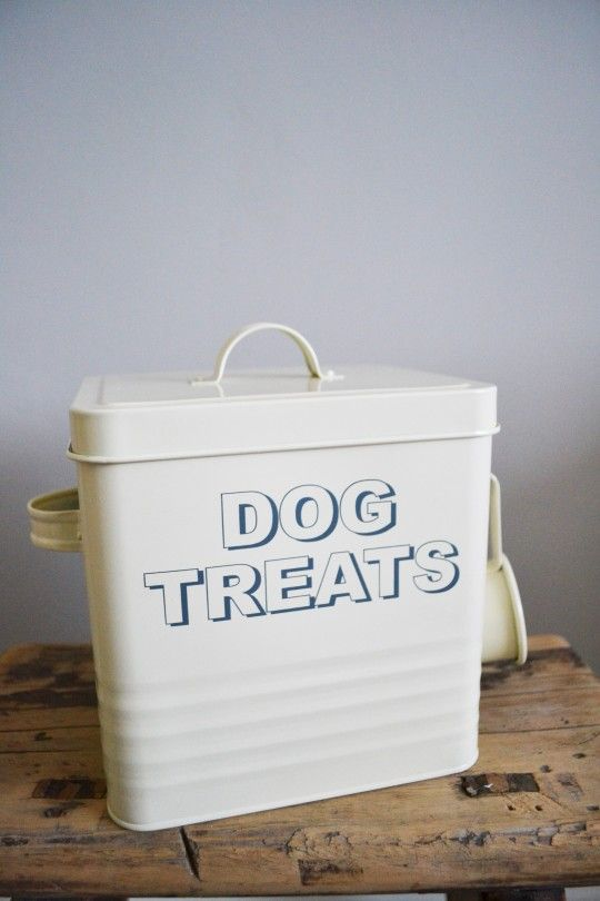 Dog Treats Tin