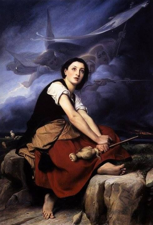 Joan of Arc Hearing Voices | Jehanne d'Arc | Pinterest ...