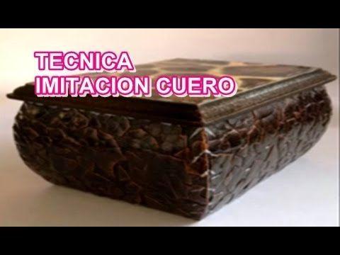 ▶ IMITACION CUERO CON CASCARA DE HUEVO - YouTube