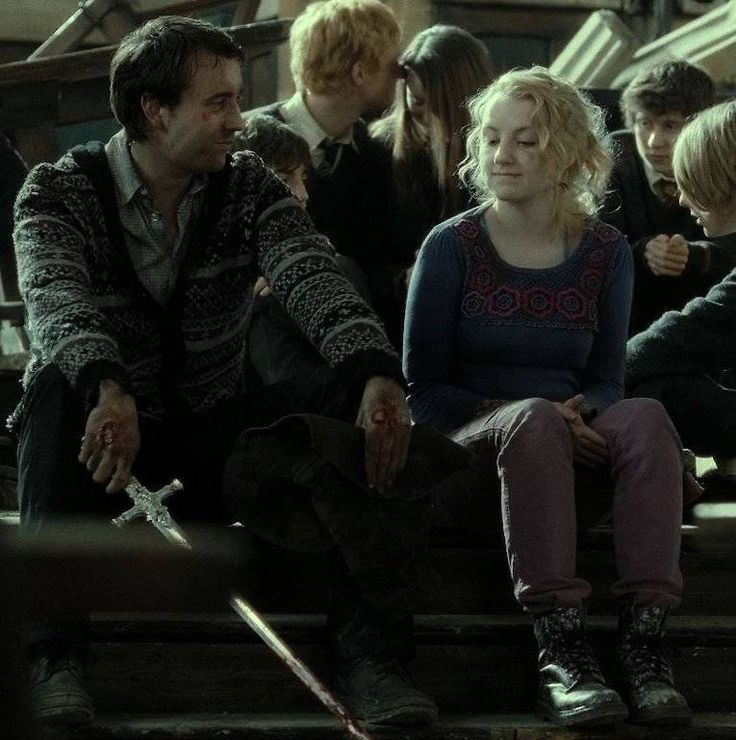 Despite what it may seem like in the movies, Luna Lovegood did not end up with Neville Longbottom. She actually married Rolf Scamander (who is the grandson of Fantastic Beasts and Where to Find Them author Newt Scamander). The two had twin boys.