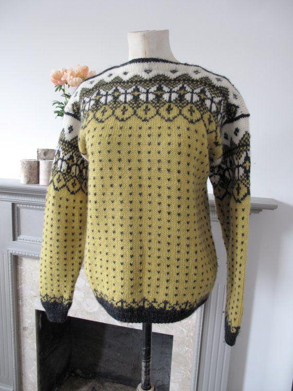 Norwegian?? Small fitting Scandinavian inspired jumper, made with Emu wool!