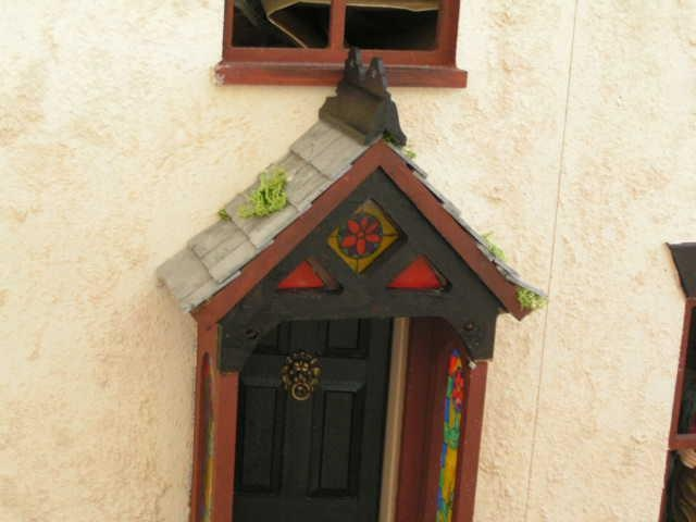 Front door finished by Sweetbriar Dreams, via Flickr
