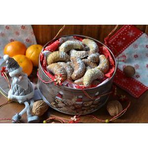 Орехово-ванильные рогалики