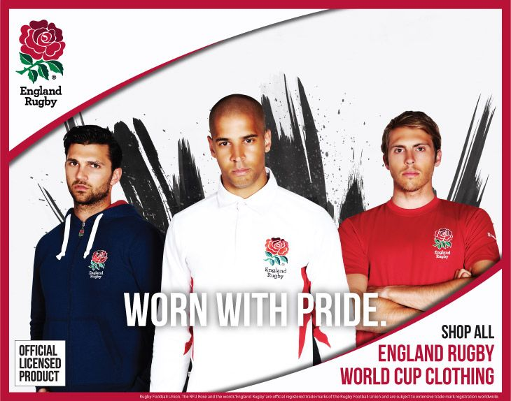 Shop England Rugby World Cup 2015