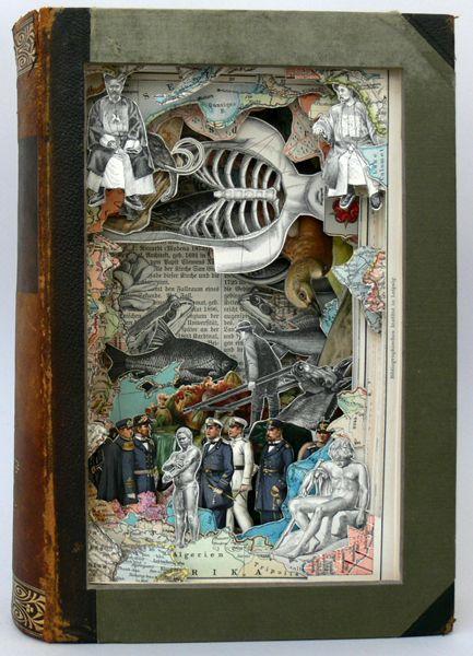 Anatomy of an Encyclopedia: Alexander Korzer-Robinson's Book Art