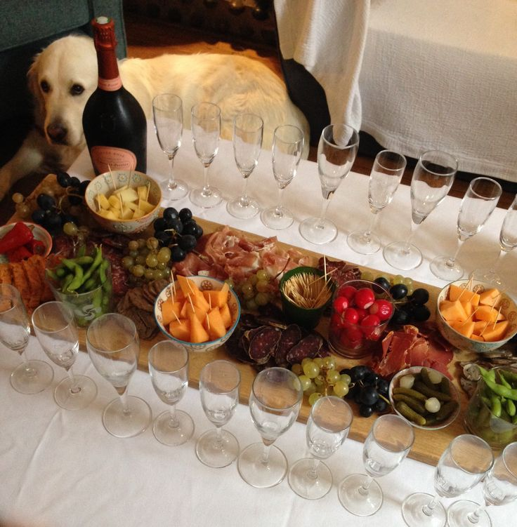 Plateau apéritif dînatoire par la Maison Casaux à Gourette
