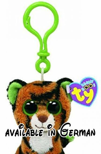 97b99917772 TY Beanie Boo Key Clip Tiger Stripes by Ty.  Toy  TOYS AND GAMES ...