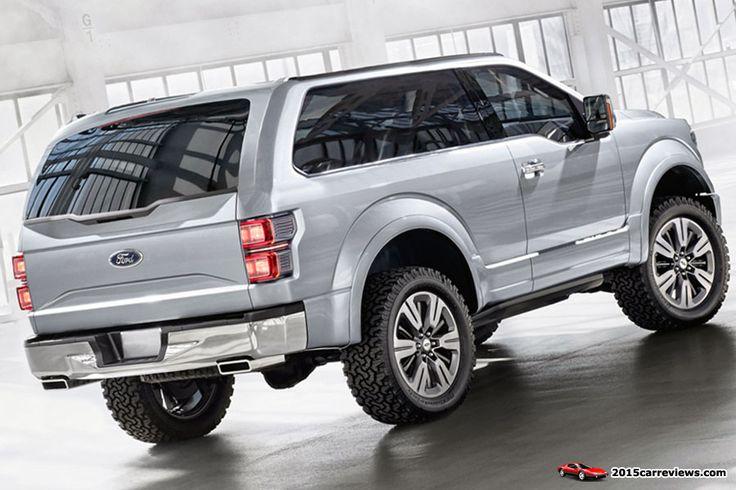 2016 Ford Bronco   2016 Ford SVT Bronco Design