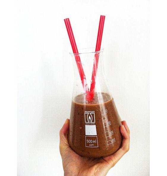 Smoothie dnia: Czekoladowy koktajl z awokado