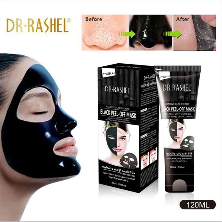 Dr. Rashel Black Peel-Off Face Mask Very Popular Bamboo Charcoal.