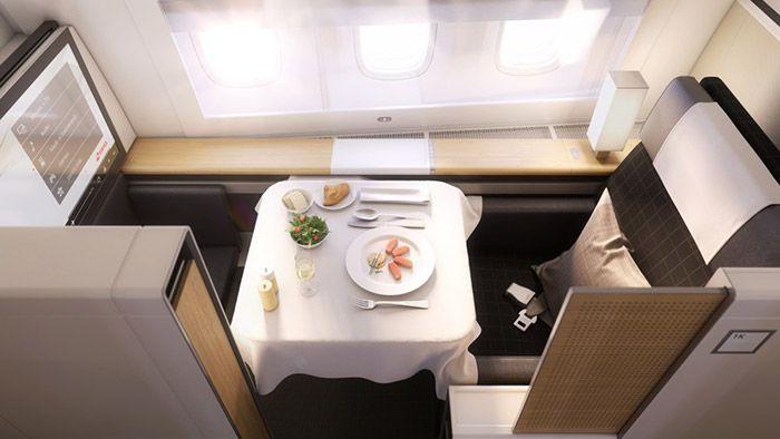 Swiss Air má nový interiér letadel Boeing 777 pro mezinárodní lety