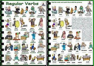 English Chamber: Verbs - Regular Verbs [Part 1]