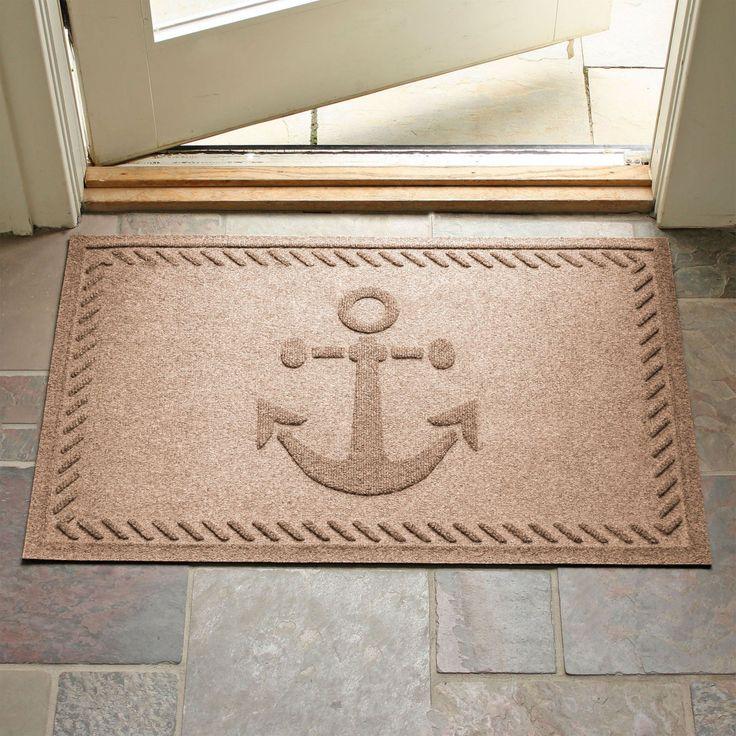 Bungalow Flooring Ships Anchor Door Mat - 20538500023
