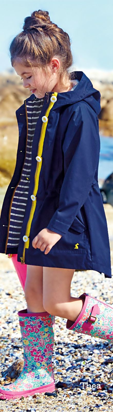 Joules Navy Jacket (3-11yrs)